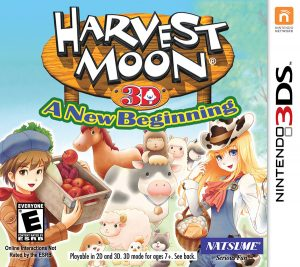 Harvest Moon: A New Beginning (Box Art)
