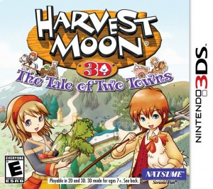 Harvest Moon: The Tale of Two Towns (Box Art)