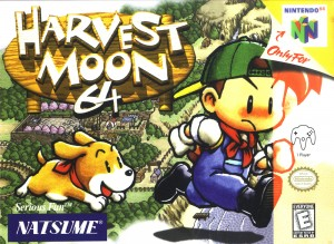 Harvest Moon 64 (Box Art)