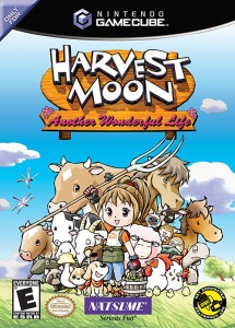 Harvest Moon: Anothor Wonderful Life (Box Art)