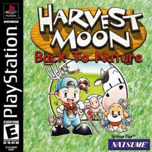 Harvest Moon: Back to Nature (Box Art)