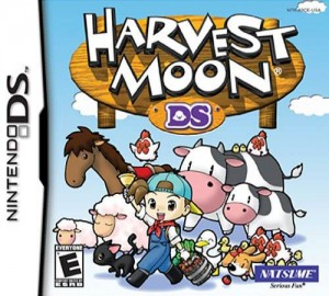 Harvest Moon DS (Box Art)