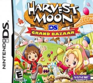 Harvest Moon: Grand Bazaar (Box Art)