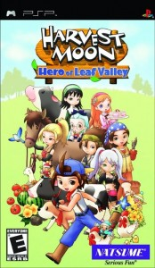 Harvest Moon: Hero of Leaf Valley (Box Art)