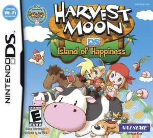 Harvest Moon: Island of Happiness (Box Art)