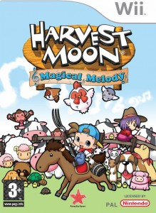 Harvest Moon: Magical Melody (Box Art)
