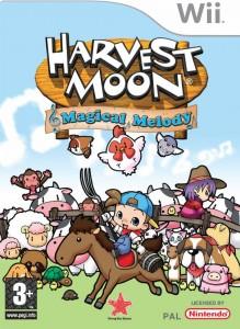 Harvest Moon: Magical Melody (Box Art)