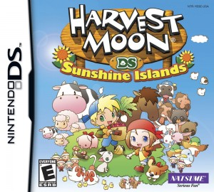 Harvest Moon: Sunshine Islands (Box Art)