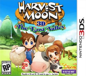 Harvest Moon: The Lost Valley (Box Art)