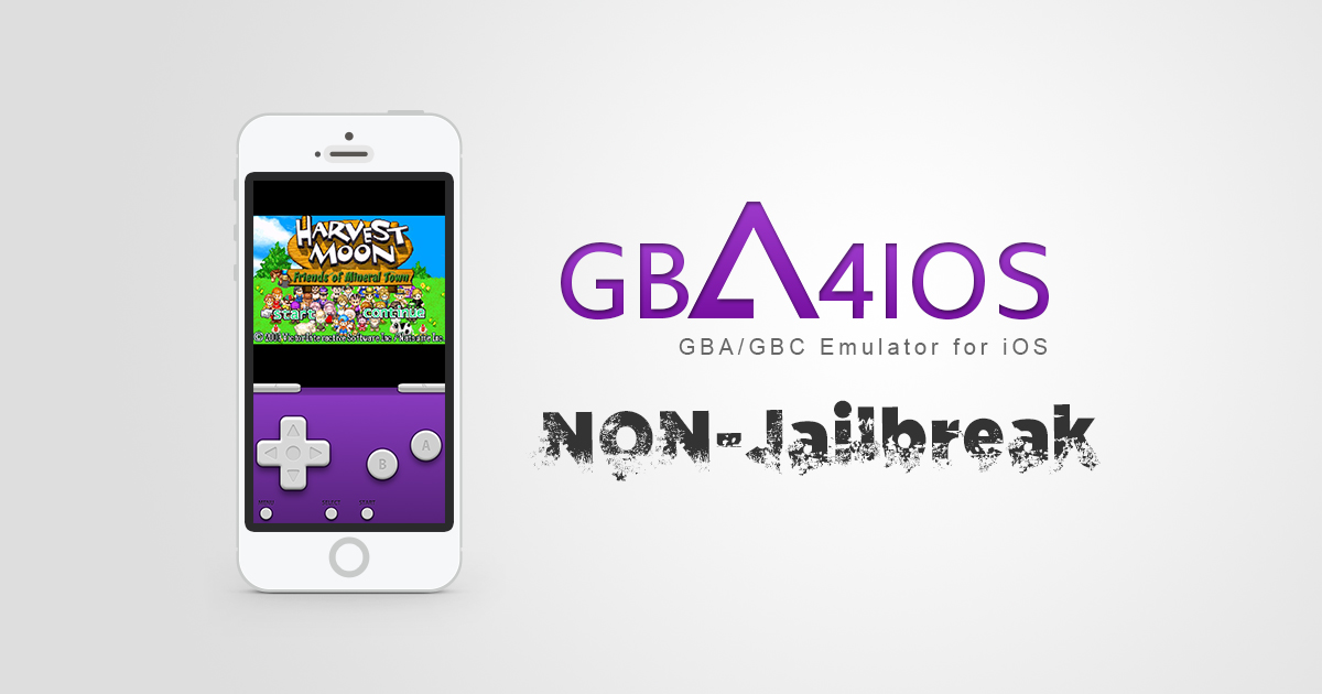iOS Non-Jailbreak : Emulators GBA/GBC – GBA4iOS