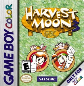 Harvest Moon 3 GBC (Box Art)