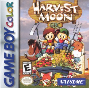 Harvest Moon GB (Box Art)
