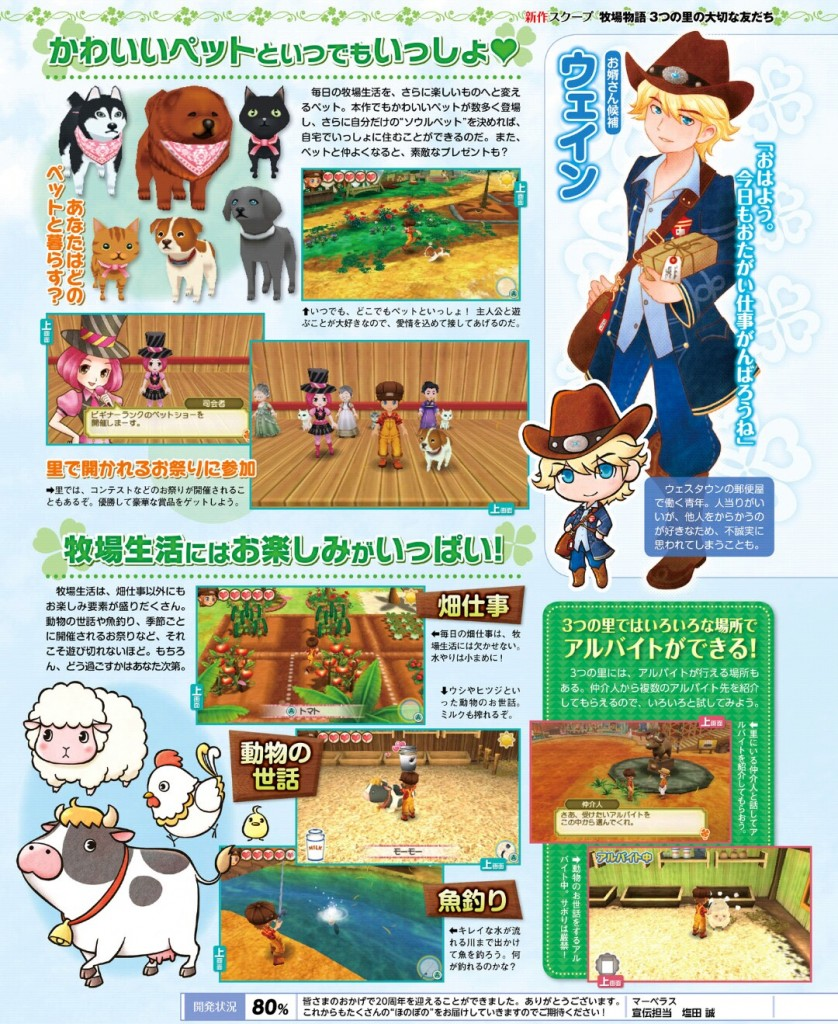 Story of Seasons: Good Friends of Three Villages (Famitsu Magazine p4)