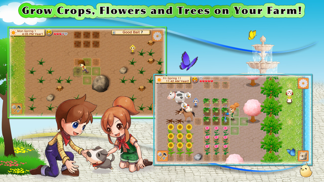 Harvest Moon: Seeds of Memories 01
