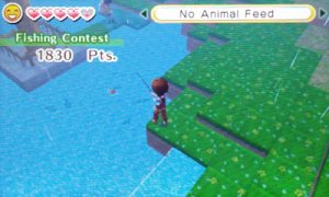 Rainning Fishing Contest Day | Harvest Moon Skytree Village