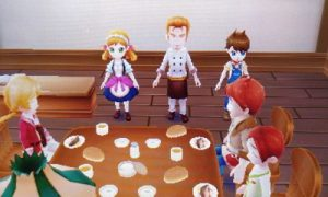 Tea Party | Harvest Moon Skytree Village