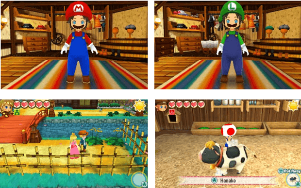 Story of Seasons Trio of Towns - Mario's Costumes