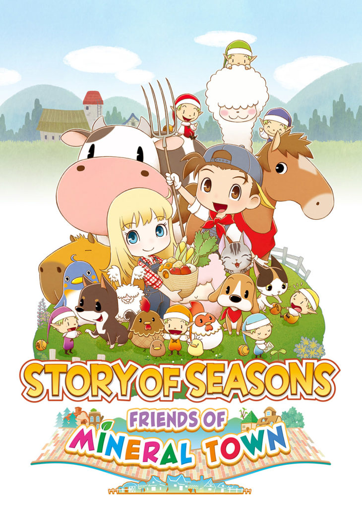 Story of Seasons: Friends of Mineral Town USA Cover