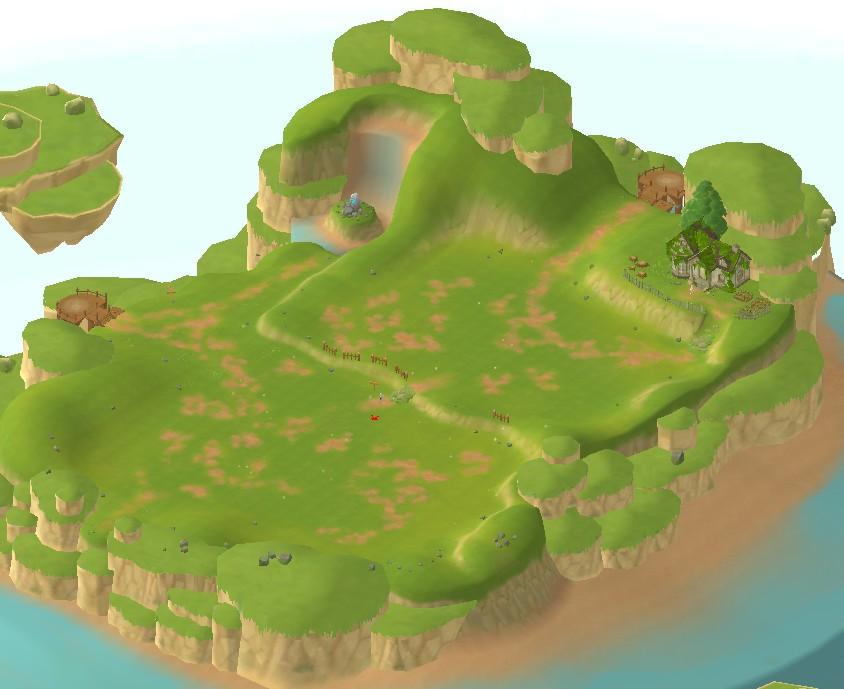 แผนที่ 3D จากมุมสูง