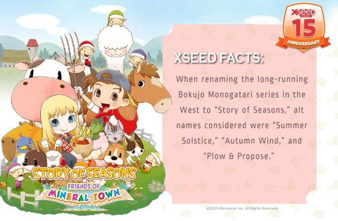 XSEED Fact
