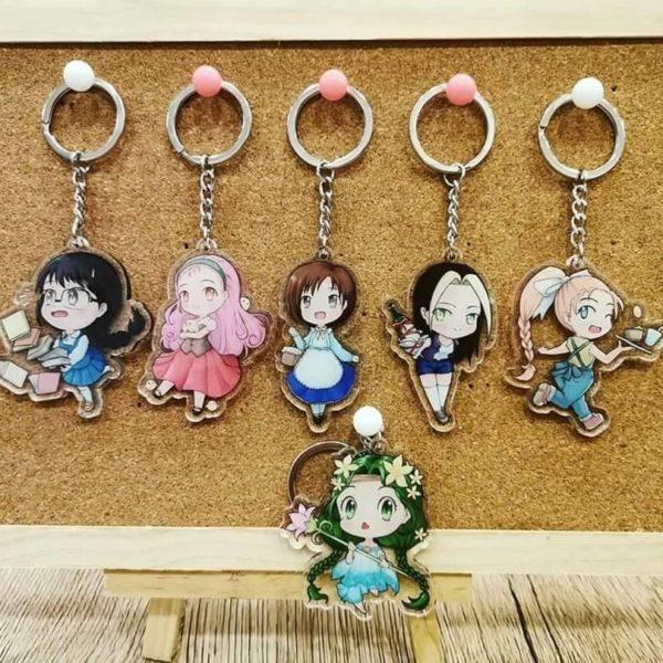 Harvest Moon x Story of Seasons Keychain Set
