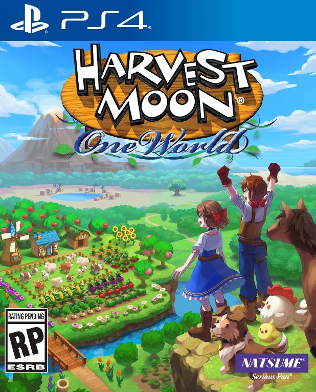 Harvest Moon: Pne World PS4 Cover