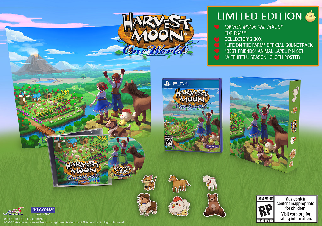 Harvest Moon: One World Limited Edition สำหรับ PlayStation 4
