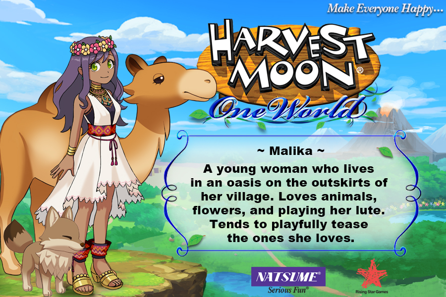 Malika - Harvest Moon: One World
